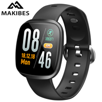 New MAKIBES HR5 Wristband Bracelet 60 days Standby Fitness Tracker SmartBand for xiaomi iPhone7 Huawei HR3 upgrade version