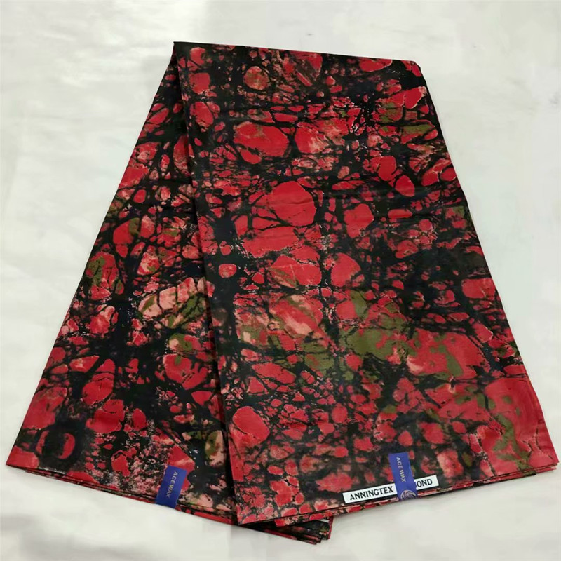 DF!African Print Fabric 6 Yards Batik Fabric Wholesale Cheap African Wax Prints Fabric Super Java Wax Ankara Fabric ! J90108