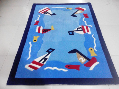 Classic Fashion Cartoon Children Carpet, Luxurious Sitting Room The Bedroom Rug, Kids Rugs Acrylic Custom Carpet.