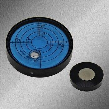 Instrumento de nivelación de burbujas redondas instrumento de nivelación de alta precisión burbuja de nivelación vientiana 50*10mm