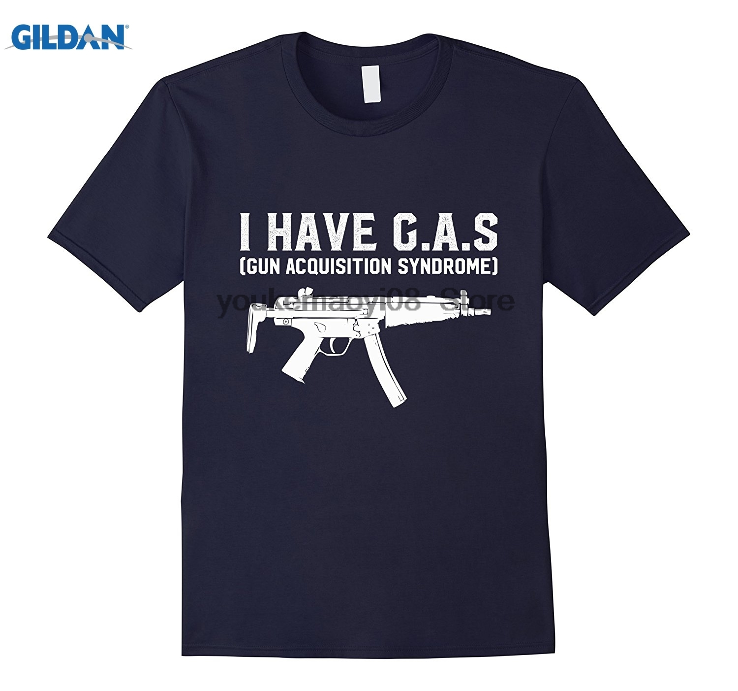 GILDAN I Have GAS Gun Acquisition Syndrome Funny Pro Weapon T-Shirt