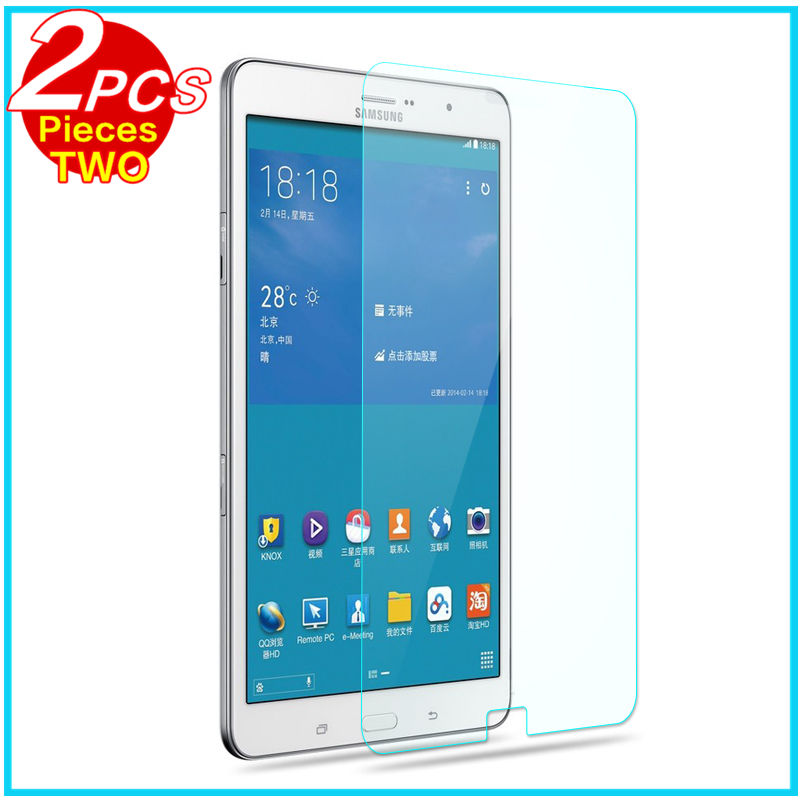 """Tempered Glass membrane For Samsung Galaxy Tab Pro 8.4"""" T320 T321 T325 Steel film Tablet Screen Protect Toughened SM T320 Case