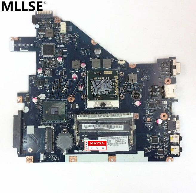 MBR4L02001 Fit For 5733 5742 NV55C Laptop Motherboard PEW71 LA-6582P Mainboard 100%tested fully work mbr4l02001 motherboard for acer aspire 5742 5742zg mb r4l02 001 pew71 l01 la 6582p tested good