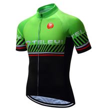 TELEYI Iron Pro Short Sleeves Cycling Jersey Cycling Shirt Only Top Cycling Clothing Wear Ropa Ciclismo maillot
