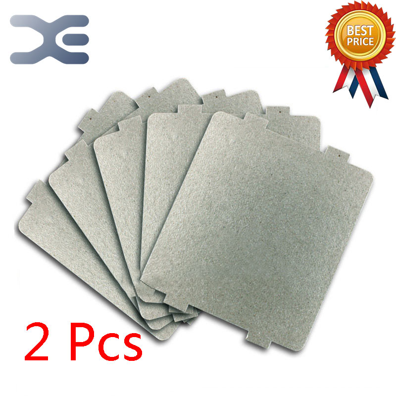 2Pcs Microwave Mica 9.9*10.8CM Mica Replacement For Microwave Ovens chantecaille shine eye shade refill mica цвет mica variant hex name 908a94