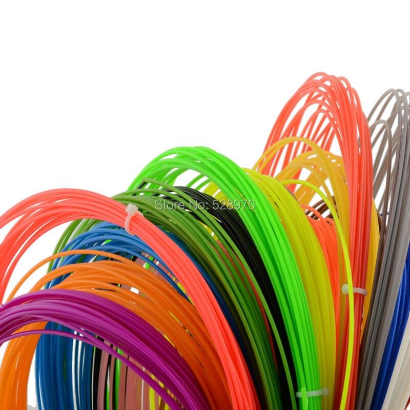 Colorfully 6pcs ABS 3D Print Filament 1 75MM For 3D Printer Pen 30g PCS X6PCS 3D