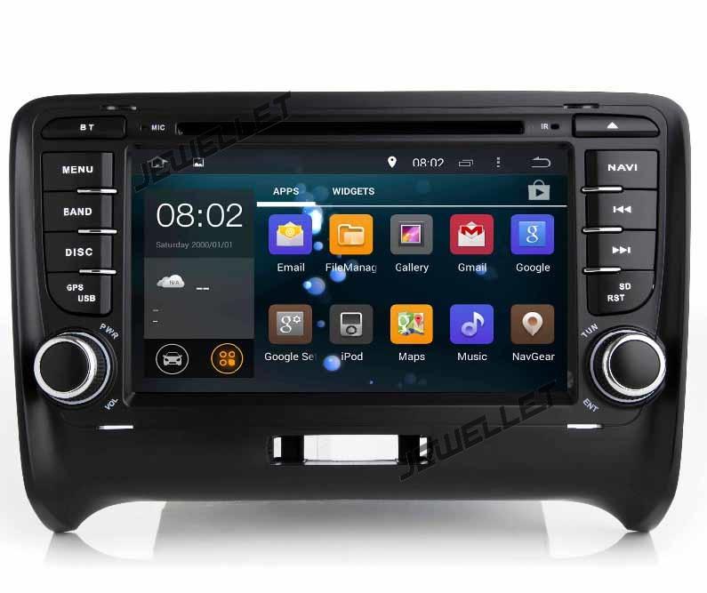 Quad core Android 9.0 voiture DVD GPS radio Navigation pour Audi TT TTS avec 4G/Wifi, DVR, OBD lien miroir 1080 P
