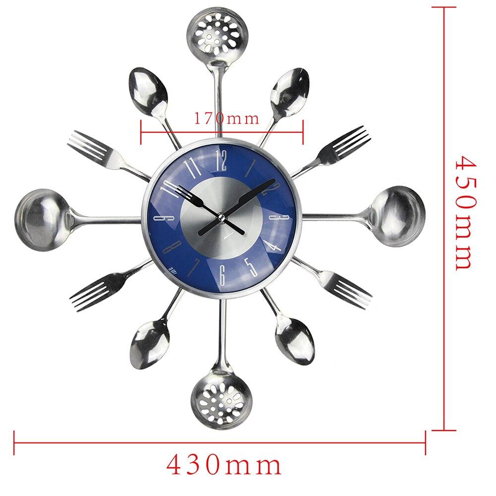 18 ιντσών μεγάλα διακοσμητικά ρολόγια - Διακόσμηση σπιτιού - Φωτογραφία 6