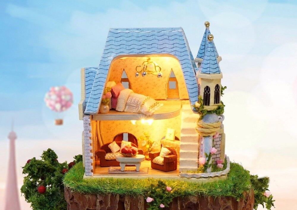 Casa de Muñecas Kit de Muebles Diy Miniatura Cubierta de Polvo 3D - Muñecas y accesorios - foto 5