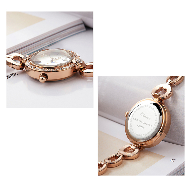 KIMIO Brand Ladies Bracelet Watches For Women Fashion Small Dial Watch 2019 Top Brand Luxury Female Wristwatch Relogio Feminino