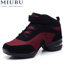 MIUBU Women Black Shoes Hip Hop Sneakers for Woman Platform Breathable Ladies