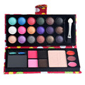 18 Colors Eye Shadow Makeup Eyeshadow Palette & 4color Brow Powder & 3 Color Lip Gloss With Blusher Cosmetic Beauty Tools