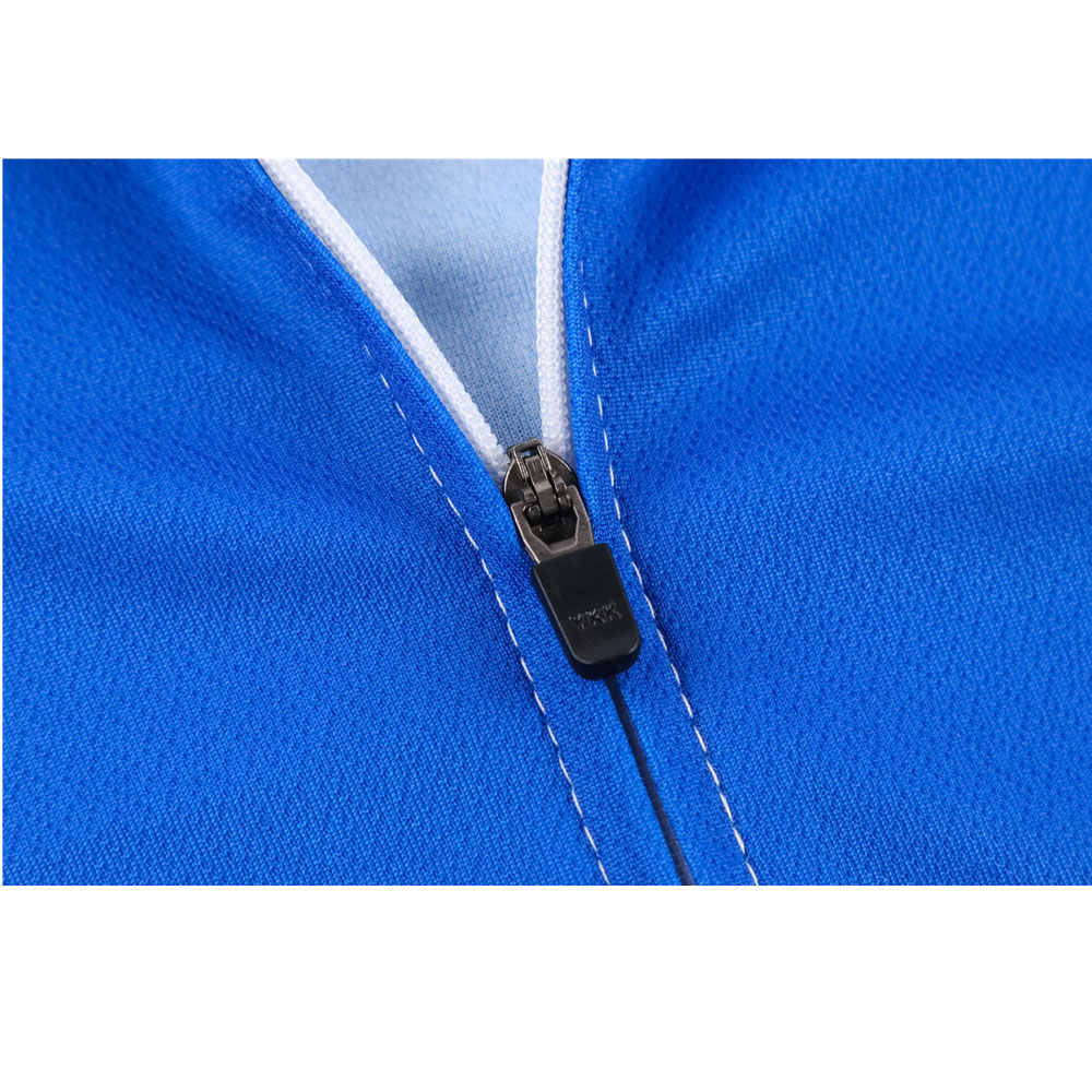 Mężczyźni z długim rękawem odzież rowerowa zestaw koszulek jazda na rowerze Maillot Sport jednolity rower MTB odzież obcisła kurtka mężczyźni odzież rowerowa
