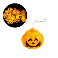 3 2m 16 LEDs Jack O Lantern Pumpkin String Lights Battery Operated For Halloween Christmas Decoration