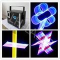 3D laser projector RGB 2d+3d dj equipment sound lights projector 2000mw rgb RGB full color laser light