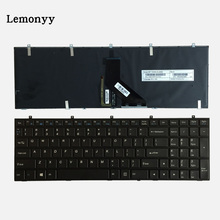 NEW US Laptop Keyboard For Clevo W650 W350SKQ W370STQ W670SR W370ET W350ET W350 W370 W655 W670