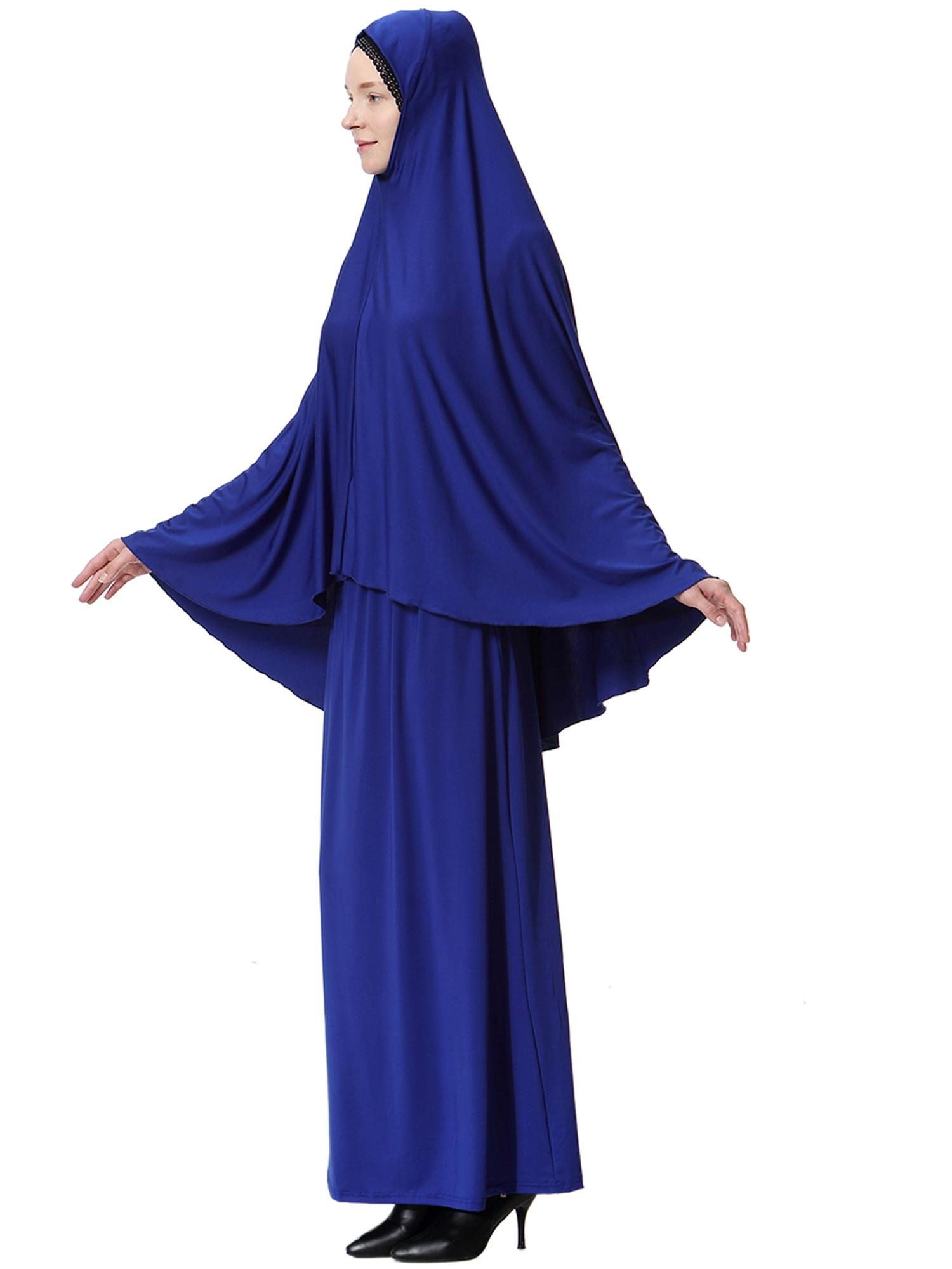 Islamic Prayer Clothes Muslim Women Hijab Dress Arab Long Hijab Khimar Abaya