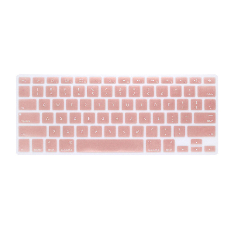 Silicone Keyboard Cover Protector Skin for Apple Macbook Pro MAC 13 15 Air 13 Soft keyboard stickers 9 Colors-0