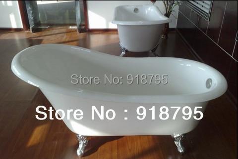 60 CUPC Approval Freestanding Luxury Bathtub Cast Iron Tub 1001-2