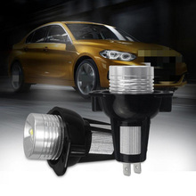 купить 2pcs 6W LED Car Fog Light For BMW 3 Series E90 E91 LED Car Headlight Bulbs 6000K White Light Auto LED Lamps дешево
