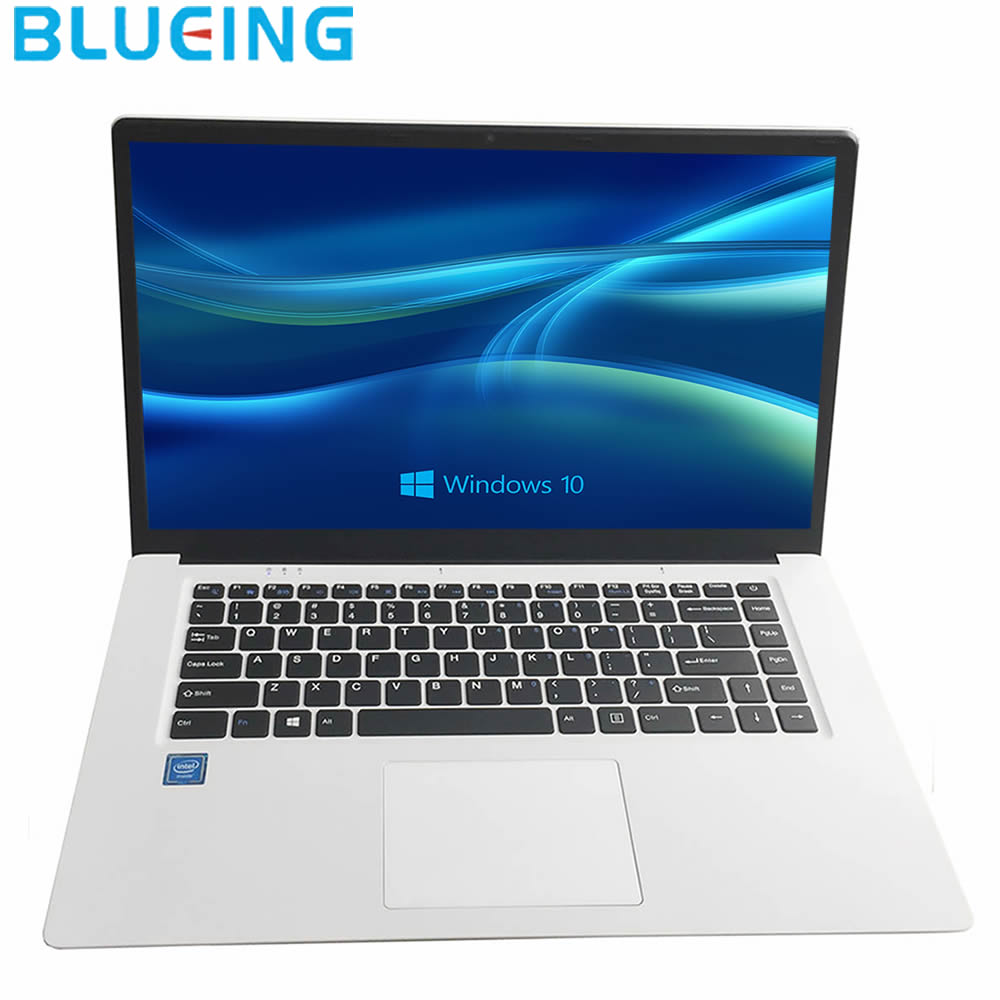 15.6 Inch Ultra-slim Laptop 2GB/6gb 32GB/64gb SSD Windows 10 WIFI Bluetooth Notebook Computer Netbook PC Free Shipping