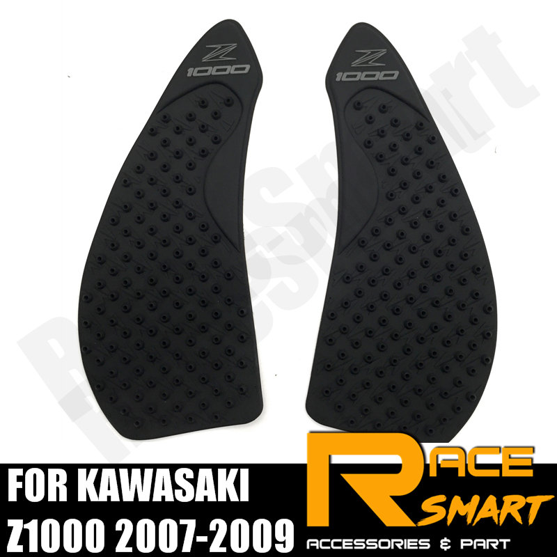Motorbike Accessories Decals & Stickers Motorcycle Gas Tank Pads For Kawasaki Z1000 2014-2017 Knee Grip Protector Protective Fuel Sticker Side Pad 2015 2016