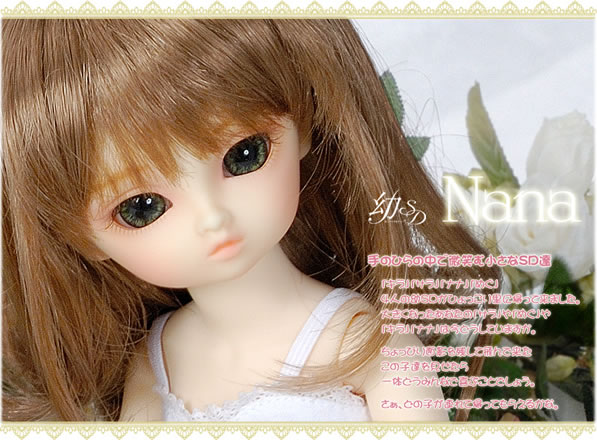 FREE SHIPPING ! FREE makeup&eyes! top quality 1/6 baby bjd girl doll little NANA best gifts cute model best gift kid toy hobbie free shipping best quality motorcycle combinations 16