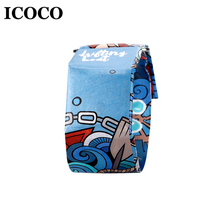 Купить с кэшбэком ICOCO X NEWSPAPR Ultra Light LED Light Digital Personlized Paper Strap Magnetic Closure Buckle Ultra Light Waterproof Drop Ship