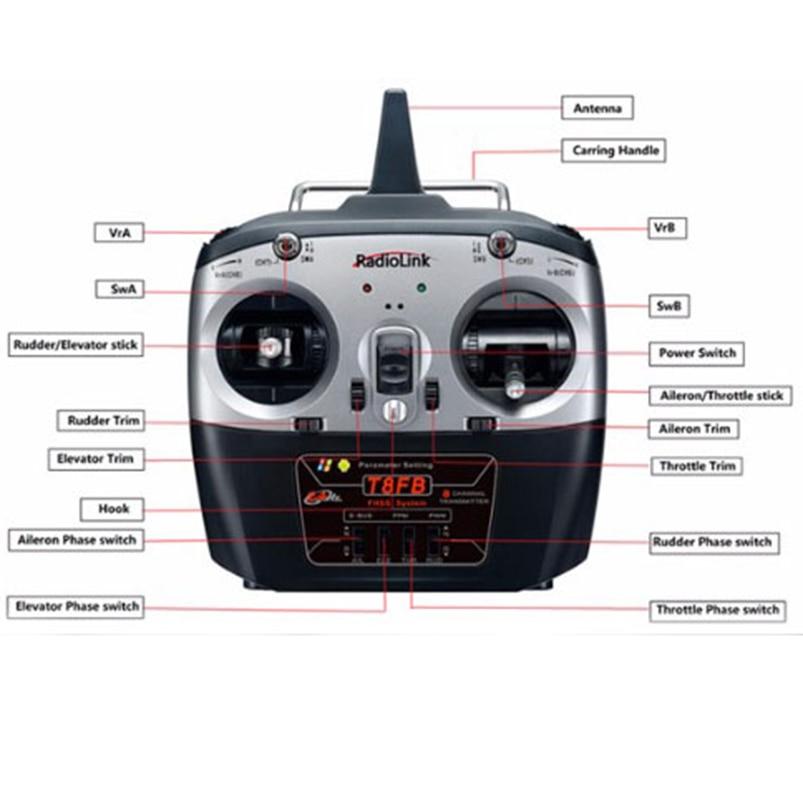 2.4G 8CH F450 RC Racing Drone Unassemble DIY Quadcopter FPV Upgrade w/ Radiolink Mini PIX M8N GPS Altitude Hold Module