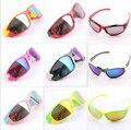 Retail 2015 nueva moda niños gafas de sol Anti ultravioleta 400 muchacha del muchacho de bastidor grande gafas primera marca