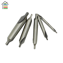 Hot Sale 5pc HSS Combined Center Drills Countersinks 60 Degree Angle Bit Set Tool 1/8 3/16 1/4 5/16 3/8 inch