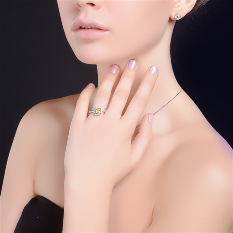 CC 925 Sterling Silver Rings For Women