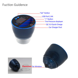 Image 5 - EANOP TPMS C500 Car Tire Pressure Monitor  Wireless Tyre Pressure Monitor with QC3.0 Quick Charge 4 pcs External Internal sensor