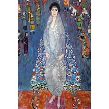 oil reproduction woman art by Gustav Klimt Portrait of Baroness Elisabeth Bachofen Echt Home decor Hand painted High quality