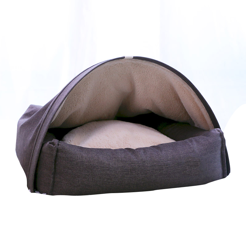 Pet chat lit petit chien chiot tapis hiver chenil chaud nid doux coussin canapé sac de couchage maison