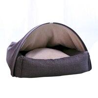 Pet Cat Bed Small Dog Puppy Mat Winter Kennel Warm Nest Soft Cushion Sofa Sleeping Bag House