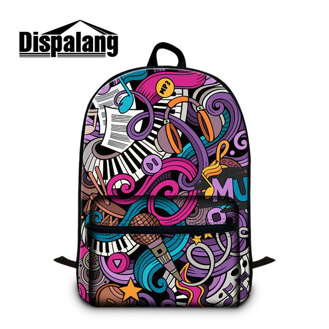 9dd6e9eccdb Dispalang Stylish Girl Laptop Backpacks Online Shop Travel Bag from China  Custom Musical Leitmotivs in Business Backpack for Boy-in Backpacks from ...