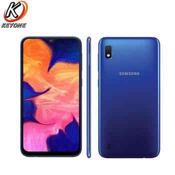 Перейти на Алиэкспресс и купить Абсолютно Новый Samsung Galaxy A10 A105F-DS мобильный телефон 6,2 дюйма 2 Гб ОЗУ 32 Гб ПЗУ Восьмиядерный Android 9,0 13,0 МП камера с двумя sim-картами