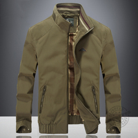 High Quality Casual Men Autumn Jacket Brand IN YESON Stand Collar Brand Business Jacket Men Spring