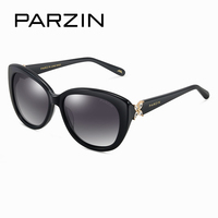2015 Parzin Brand Vintage Rhinestone Butterfly Decoration Anti Uv Womens Sunglasses For Drive Packaging In A