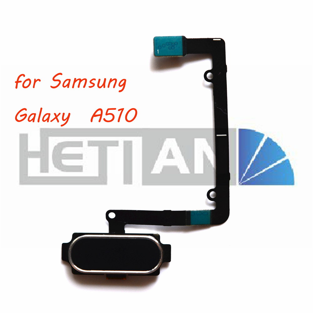 Back Home Button Fingerprint Sensor Accessories Flex Cable For Samsung Galaxy A5 2016 A510f Replacement