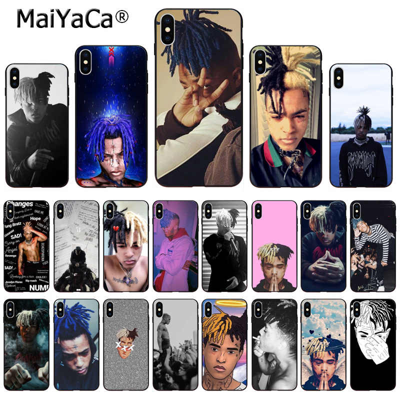 MaiYaCa Hip-hop Singer XXX Tenta Cion Cute on sell funda Phone Case For iPhone X 66S 7 8 Plus 5 5S SE XS XR XS MAX mobile cover