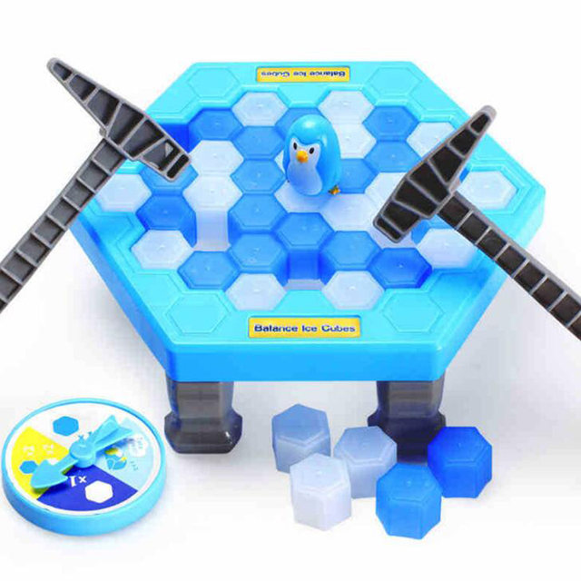 Funny Penguin Trap Interactive Indoor Board Game Ice Breaking Save The Penguin Parent-child Table Entertainment Kids Toys W0038