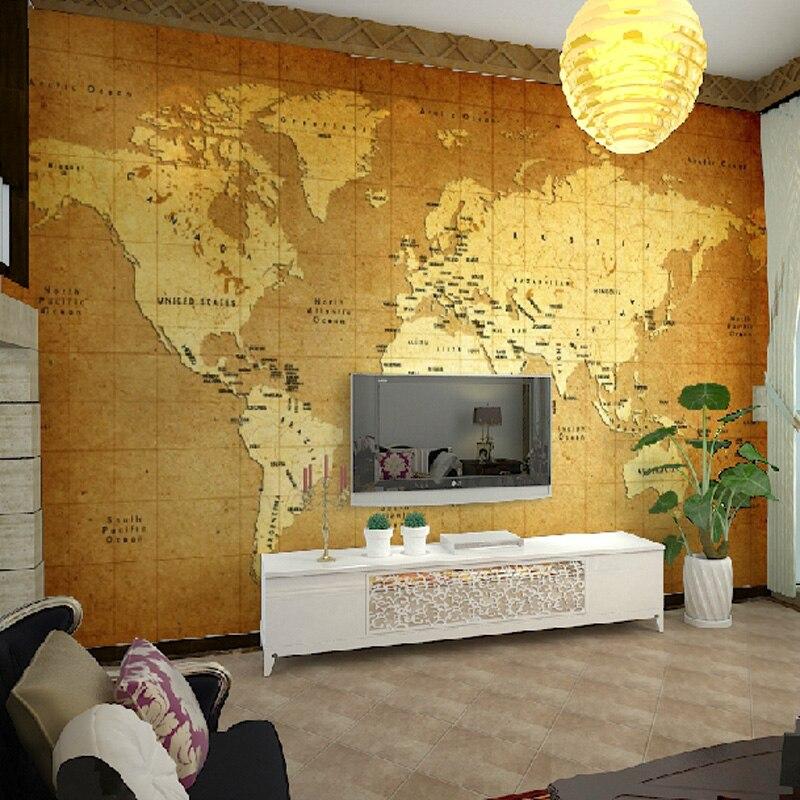 carte du monde papier peint achetez des lots petit prix. Black Bedroom Furniture Sets. Home Design Ideas