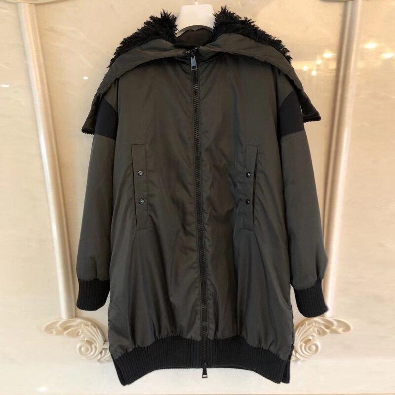 Для женщин длинная куртка осень 2018 молнии куртка с длинными рукавами модная верхняя одежда Новая куртка пальто Для женщин