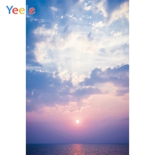 Yeele Seascape Photocall Clouds Sunset Painting Photography Backdrops Personalized Photographic Backgrounds For Photo Studio