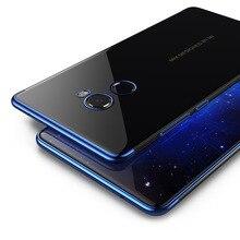 For Xiaomi mi Mix 2 Case transparent TPU Soft Phone Cases Coque case for Xiaomi  Mix2 back Cover #002