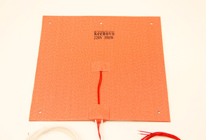 Image 2 - Keenovo Silicone Heater 245X245mm 350W@220V for Ultimaker Clone CL260 3D Printer Heated Bed,Build Plate Heating Element