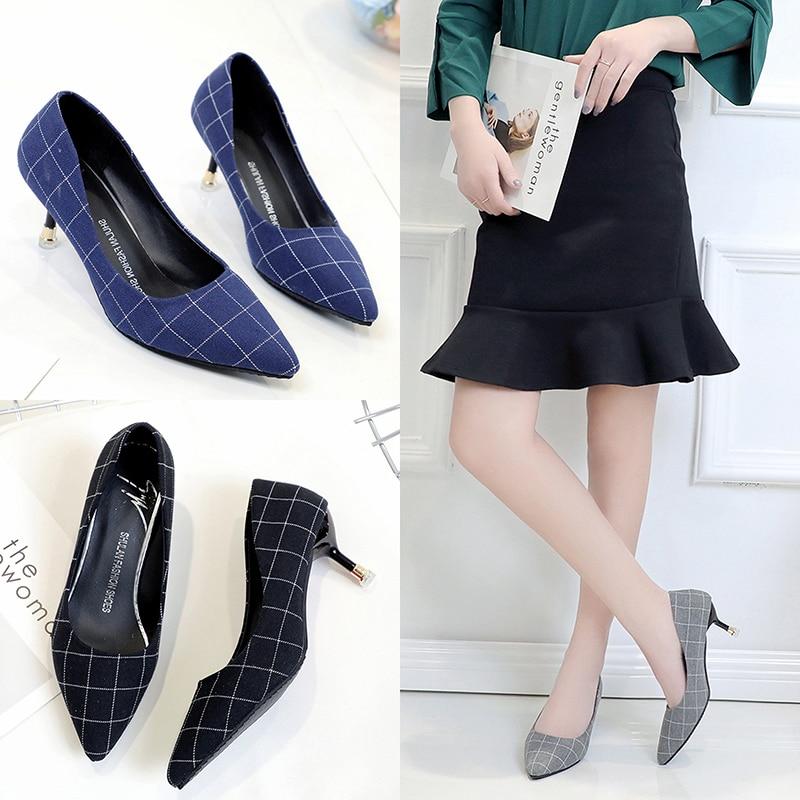 Peu Femmes Bow Sauvage Black Bow Talons 2018 Bouche Simples Bow Nouvelles Stylet Profonde gray gris De Mode noir blue bleu Chaussures Arc Haute qYw1A1z5