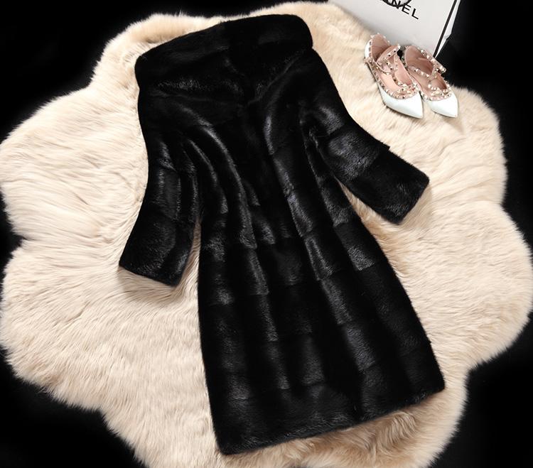 HTB1nTFLX12CK1JjSZFrq6zHFpXaj - Winter Hooded Faux Fur coat JKP0069